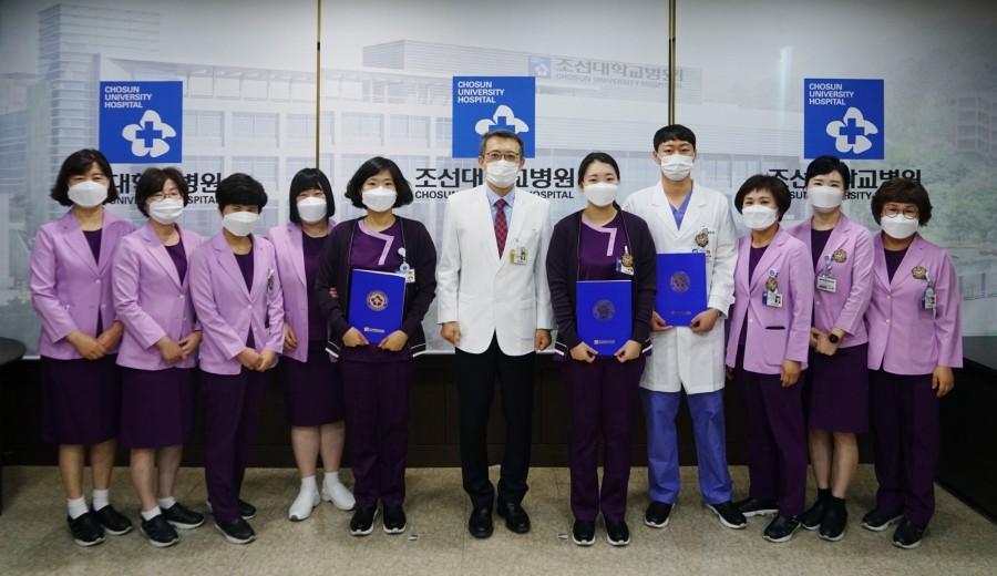 20201201 신규 간호사 임명장 수여식 1.JPG