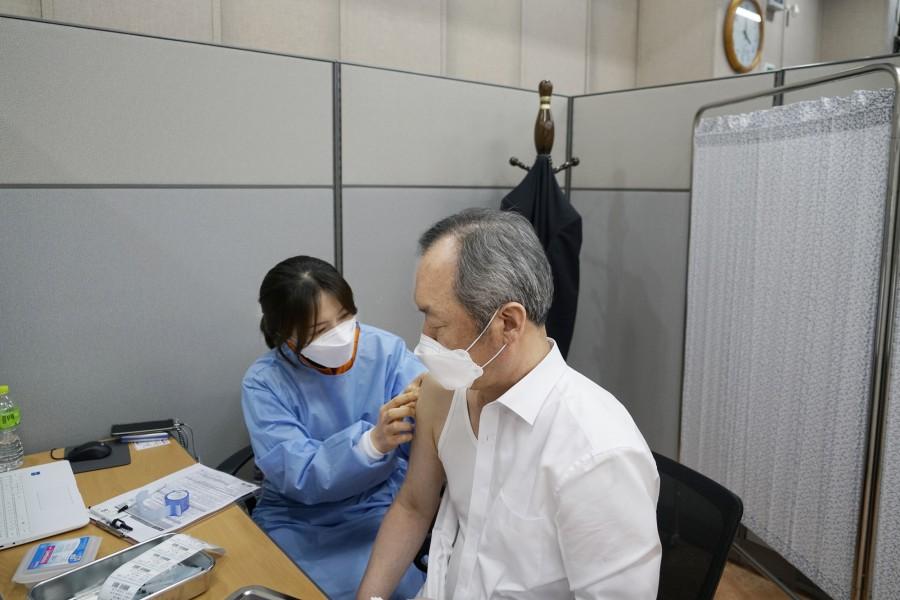 20210308 조선대병원, 3월 5일 아스트라제네카 백신 입고6.JPG