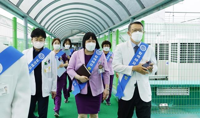 20210630 조선대병원, 환자 안전 위한 '리더십 안전 라운딩' 실시3.JPG