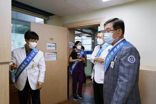20210630 조선대병원, 환자 안전 위한 '리더십 안전 라운딩' 실시6.JPG