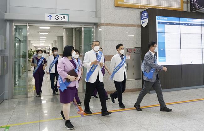 20210630 조선대병원, 환자 안전 위한 '리더십 안전 라운딩' 실시5.JPG